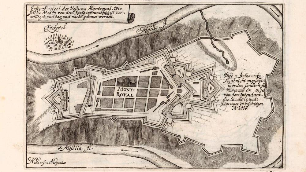 Kupferstich aus dem Jahr 1693