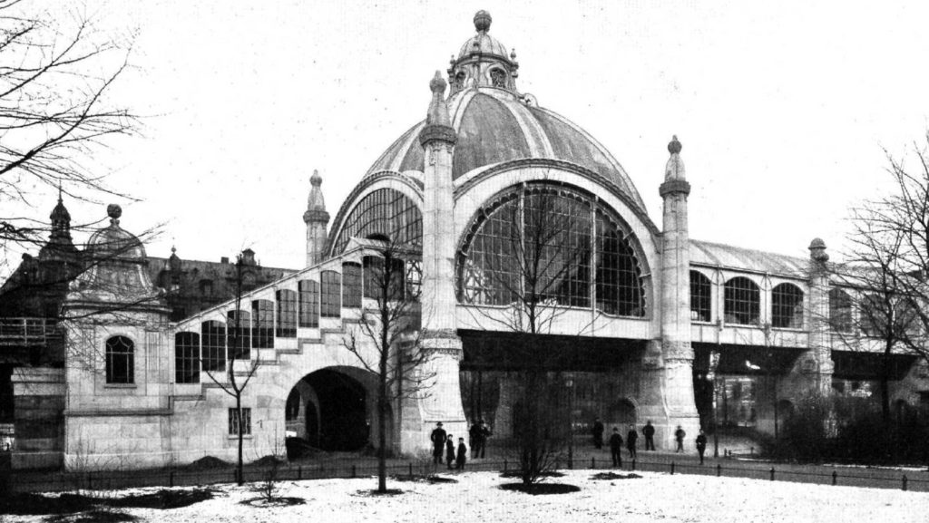 U-Bahnhof Nollendorfplatz im Jahr 1903 (Foto: unbekannt/Berliner Architekturwelt 5.2/gemeinfrei)