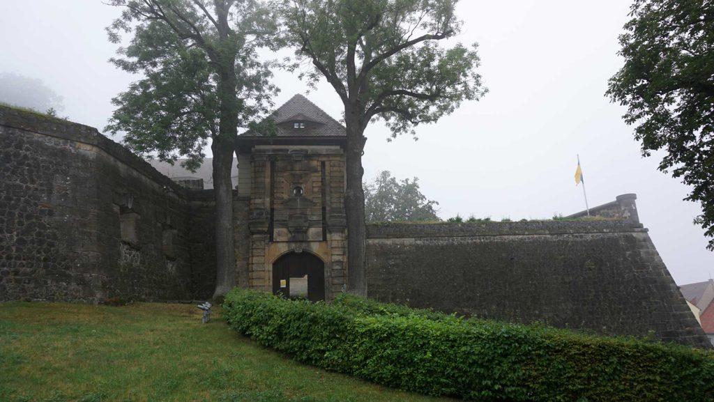 Die Burg Stolpen in Sachsen