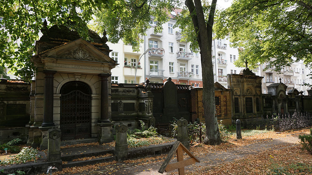 Alter St.-Matthäus-Kirchhof in Berlin-Schöneberg