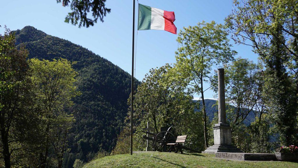 Bezzecca Gardasee Ledro-Tal Garibaldi