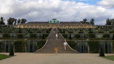 Das Schloss Sanssouci im gleichnamigen Park