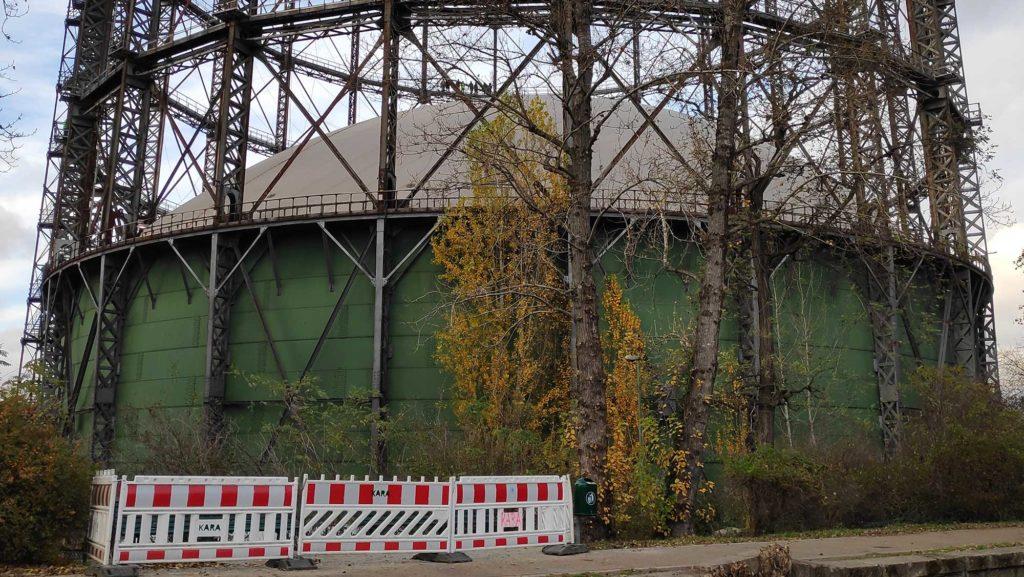 Gasometer Berlin-Schöneberg Rote Insel