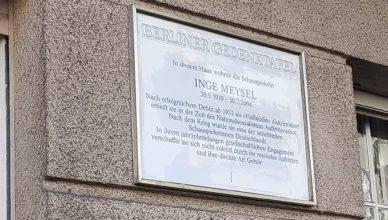 Inge Meysel Schöneberg Berlin Heylstraße 29