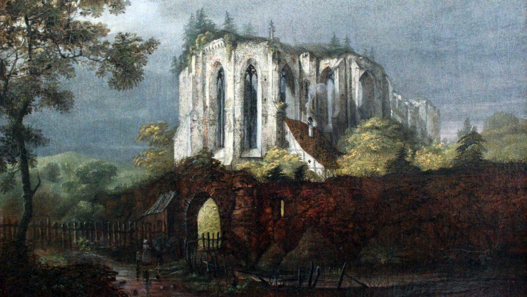 Carl Blechen malte die Klosterruine Oybin im Jahr 1822
