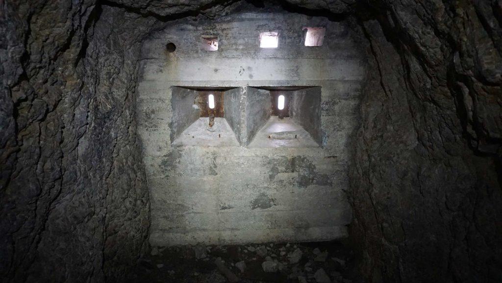 Hexenstein Sasso di Stria Goiginger-Tunnel