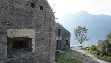 Mittelbatterie (Batteria di Mezzo) Riva del Garda Gardasee Monte Brione