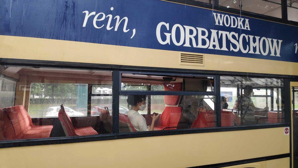 Autobus Traditionsbus BVG 218 Pfaueninsel Berlin