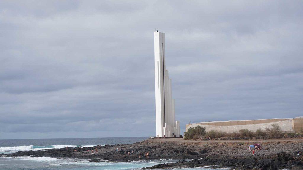 Faro de Punta del Hidalgo, Leuchtturm Teneriffa Spanien, Faro