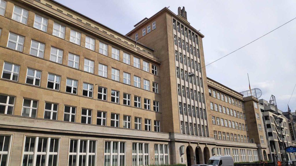 Organisation Todt, Friedrichstraße 34, Berlin, Reichsadler